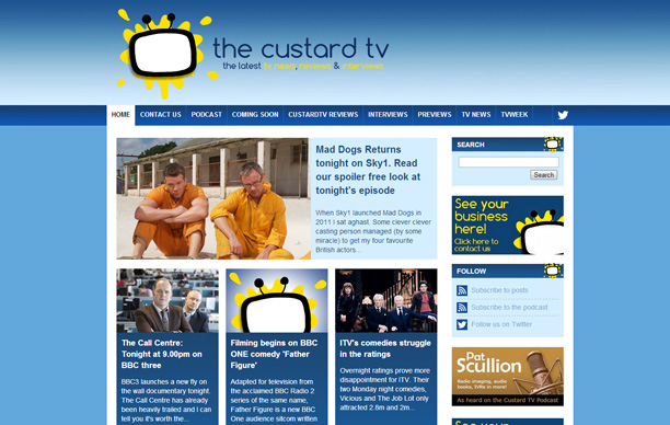 The Custard TV Website