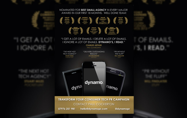 Dynamo Advert Design