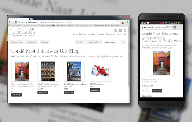Cond� Nast Johansens Guides Website