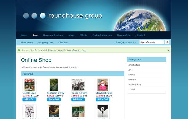 Roundhouse Group Website